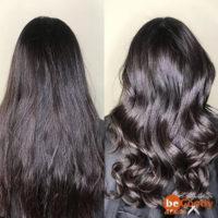 Ботокс для волос: лёгкая кератинизация и результат: сияющие волосы