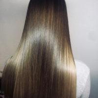 Выплямление волос кератином — сияние и шёлк!