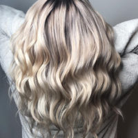 Идеальный блонд от нашего мастера Анны