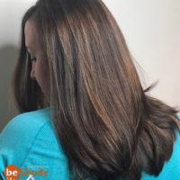 Окрашивание волос от нашего мастера Марии